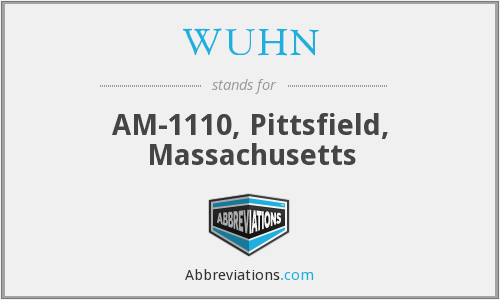 WUHN - AM-1110, Pittsfield, Massachusetts