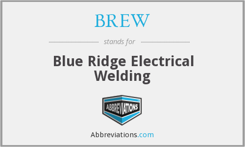 BREW - Blue Ridge Electrical Welding