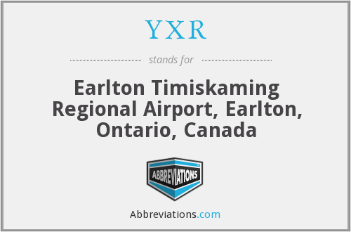 YXR - Earlton Timiskaming Regional Airport, Earlton, Ontario, Canada