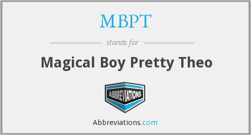 MBPT - Magical Boy Pretty Theo