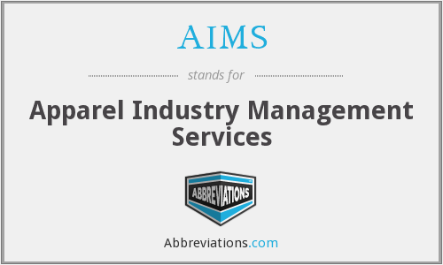 AIMS - Apparel Industry Management Services