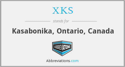 What does XKS stand for?