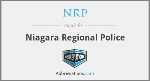 NRP - Niagara Regional Police