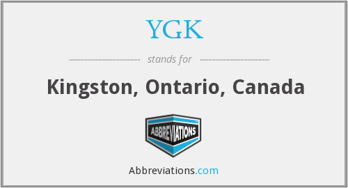 YGK - Kingston, Ontario, Canada