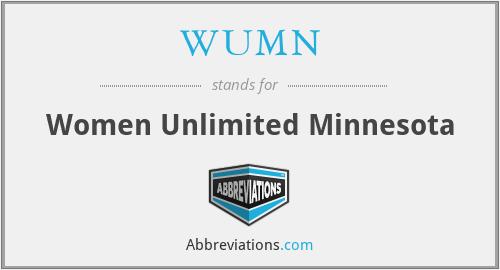 WUMN - Women Unlimited Minnesota