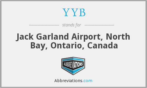 YYB - Jack Garland Airport, North Bay, Ontario, Canada