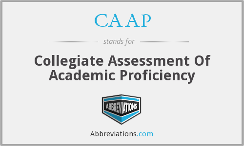 What does CAAP stand for?