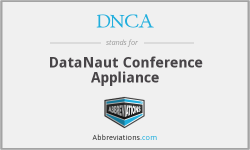 DNCA - DataNaut Conference Appliance