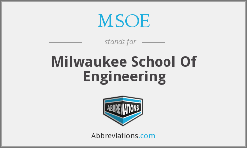 What does MSOE stand for?