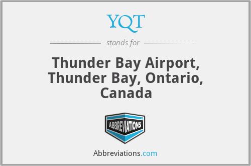 YQT - Thunder Bay Airport, Thunder Bay, Ontario, Canada