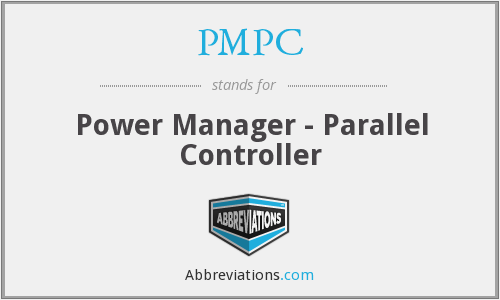 PMPC - Power Manager - Parallel Controller