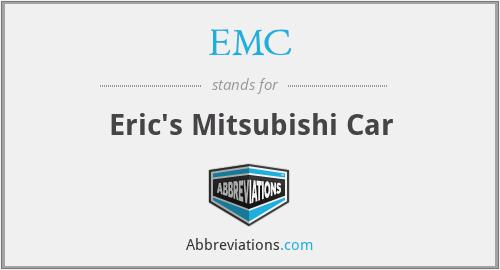 EMC - Eric's Mitsubishi Car