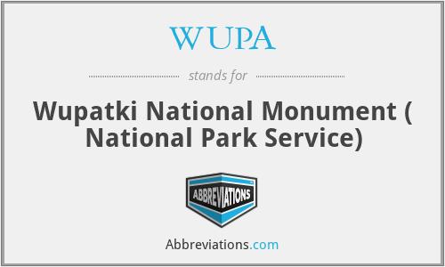 WUPA - Wupatki National Monument ( National Park Service)