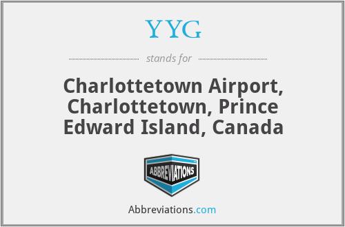 YYG - Charlottetown Airport, Charlottetown, Prince Edward Island, Canada