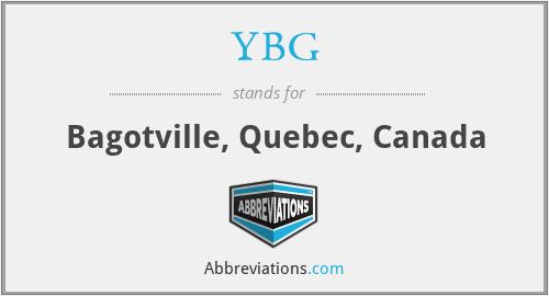 YBG - Bagotville, Quebec, Canada