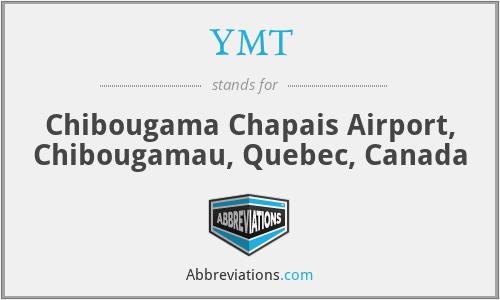YMT - Chibougama Chapais Airport, Chibougamau, Quebec, Canada