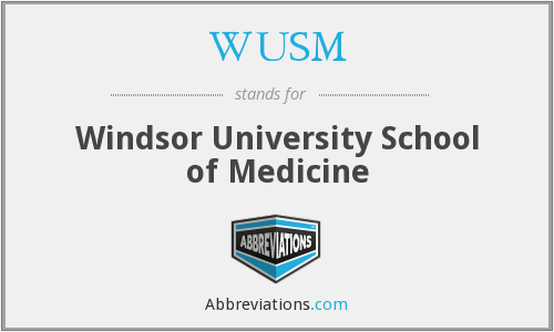 WUSM - Windsor University School of Medicine