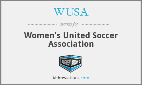 WUSA - Women's United Soccer Association
