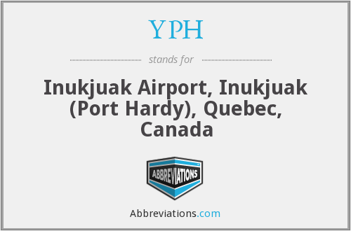 YPH - Inukjuak Airport, Inukjuak (Port Hardy), Quebec, Canada