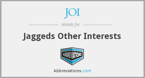 JOI - Jaggeds Other Interests