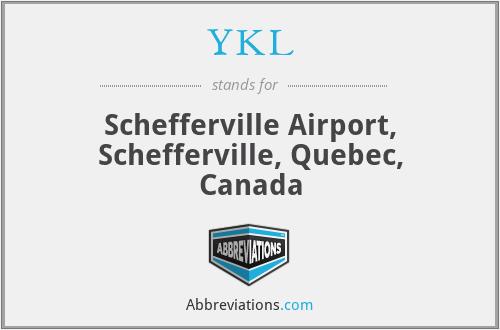 YKL - Schefferville Airport, Schefferville, Quebec, Canada