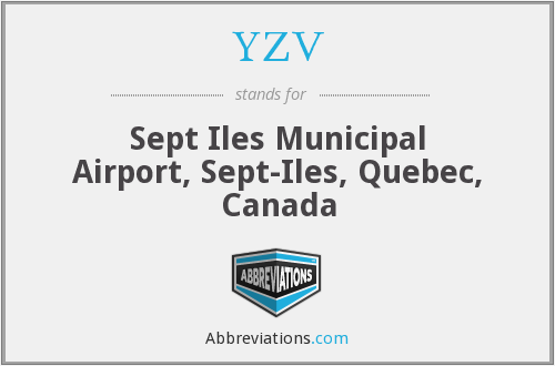 YZV - Sept Iles Municipal Airport, Sept-Iles, Quebec, Canada