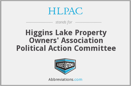 What does HLPAC stand for?