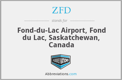 What does ZFD stand for?