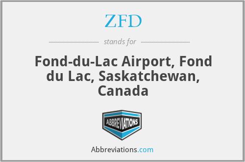 ZFD - Fond-du-Lac Airport, Fond du Lac, Saskatchewan, Canada