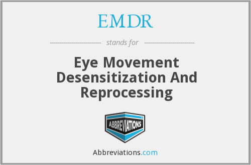 What does EMDR stand for?