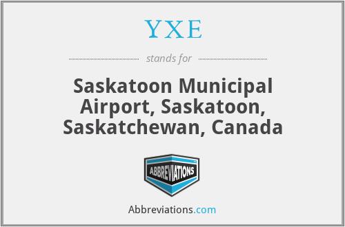 YXE - Saskatoon Municipal Airport, Saskatoon, Saskatchewan, Canada