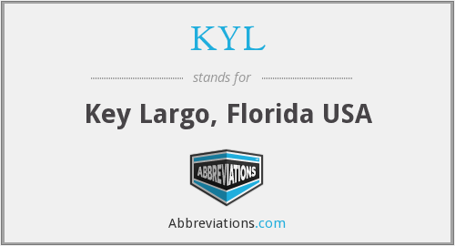 KYL - Key Largo, Florida USA