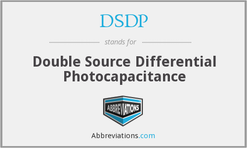 DSDP - Double Source Differential Photocapacitance