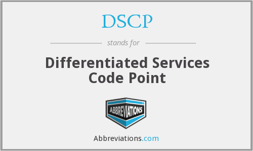What does DSCP stand for?