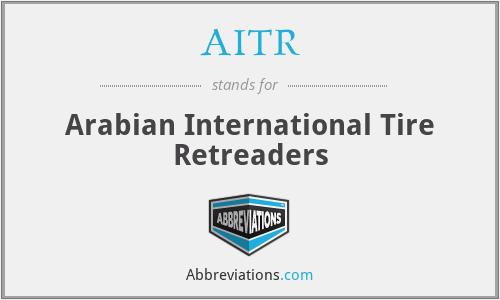 AITR - Arabian International Tire Retreaders