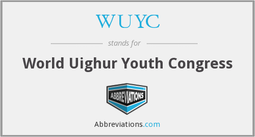 WUYC - World Uighur Youth Congress