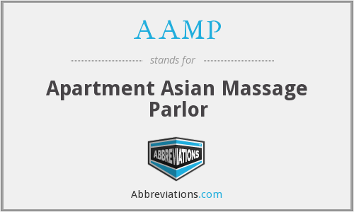 AAMP - Apartment Asian Massage Parlor
