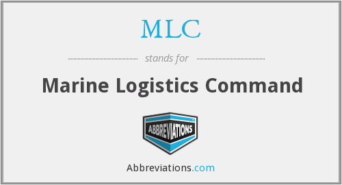 MLC - Marine Logistics Command