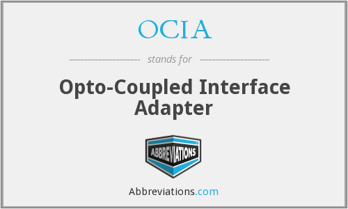OCIA - Opto Coupled Interface Adapter