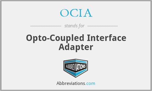 OCIA - Opto-Coupled Interface Adapter