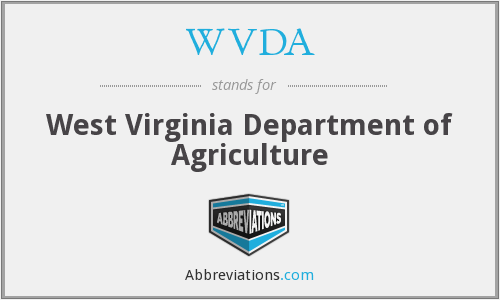 WVDA - West Virginia Department of Agriculture