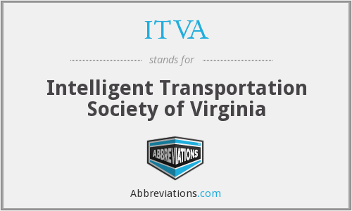ITVA - Intelligent Transportation Society of Virginia
