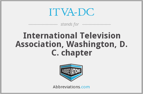 ITVA-DC - International Television Association, Washington, D. C. chapter