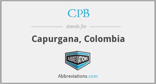 CPB - Capurgana, Colombia