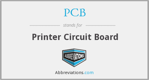 PCB - Printer Circuit Board