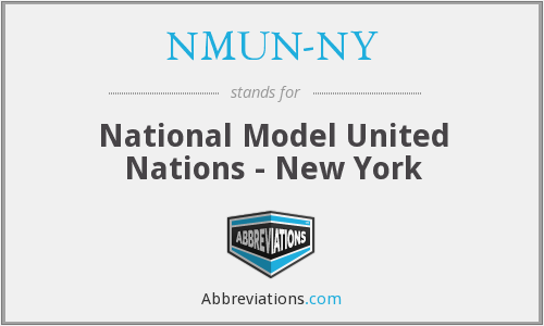 What does NMUN-NY stand for?