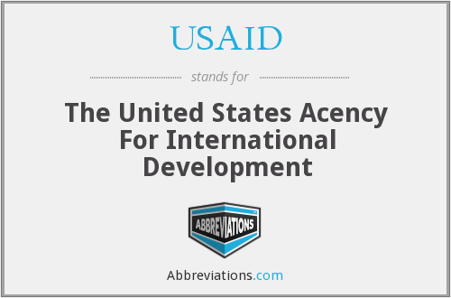 USAID - The United States Acency For International Development