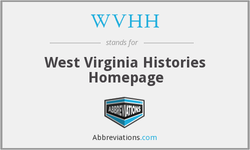 What does WVHH stand for?