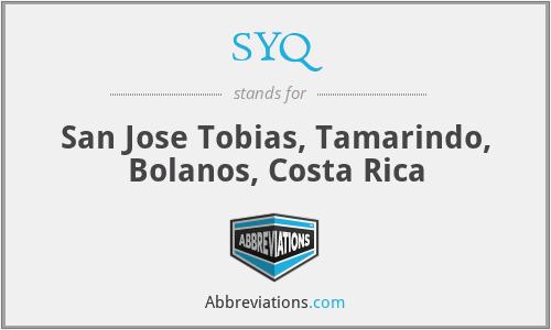 SYQ - San Jose Tobias, Tamarindo, Bolanos, Costa Rica