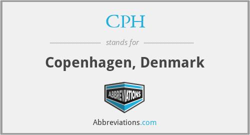 CPH - Copenhagen, Denmark